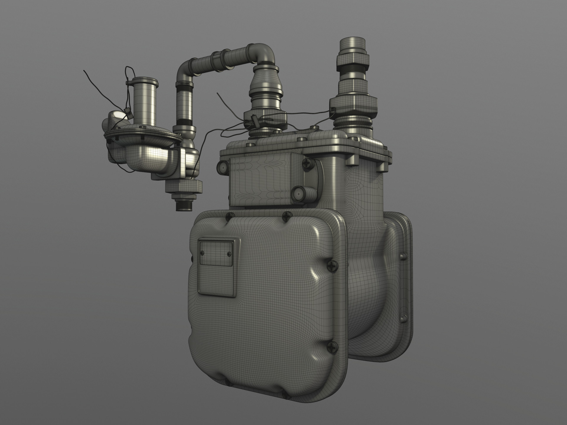 [Highpoly - Front]