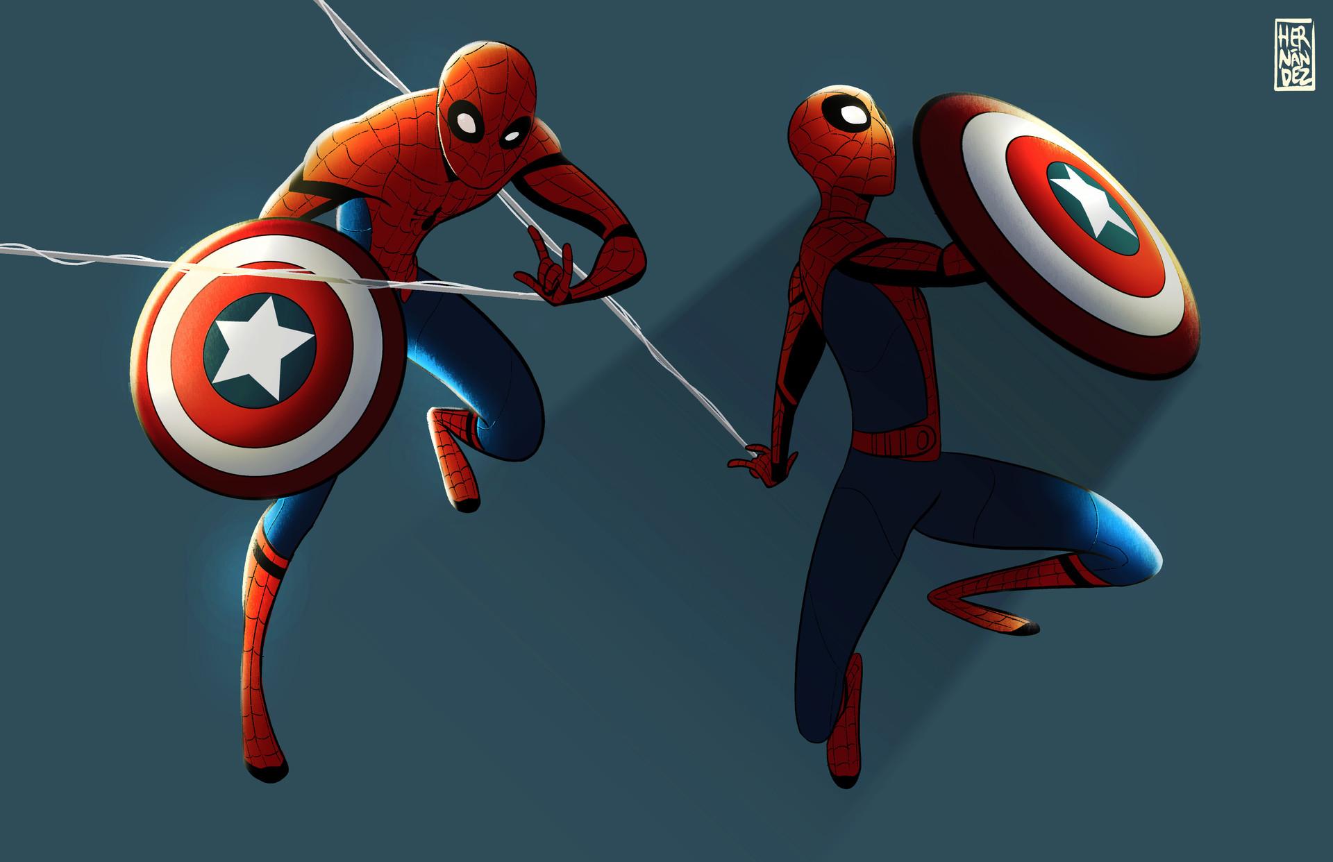 Spider-Cap. 2015