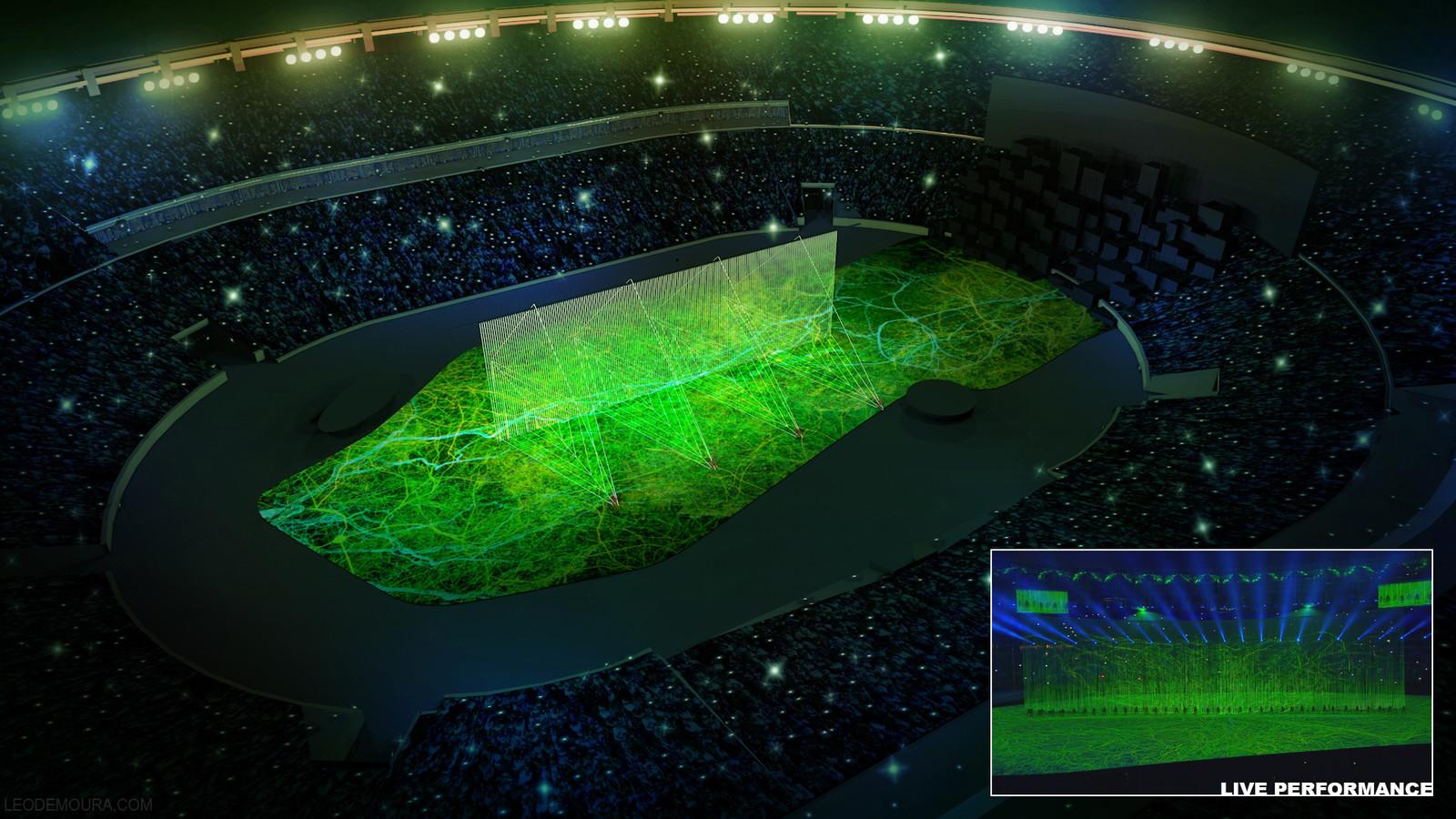 Rio 2016 Olympics Ceremony Storyboard 2/4