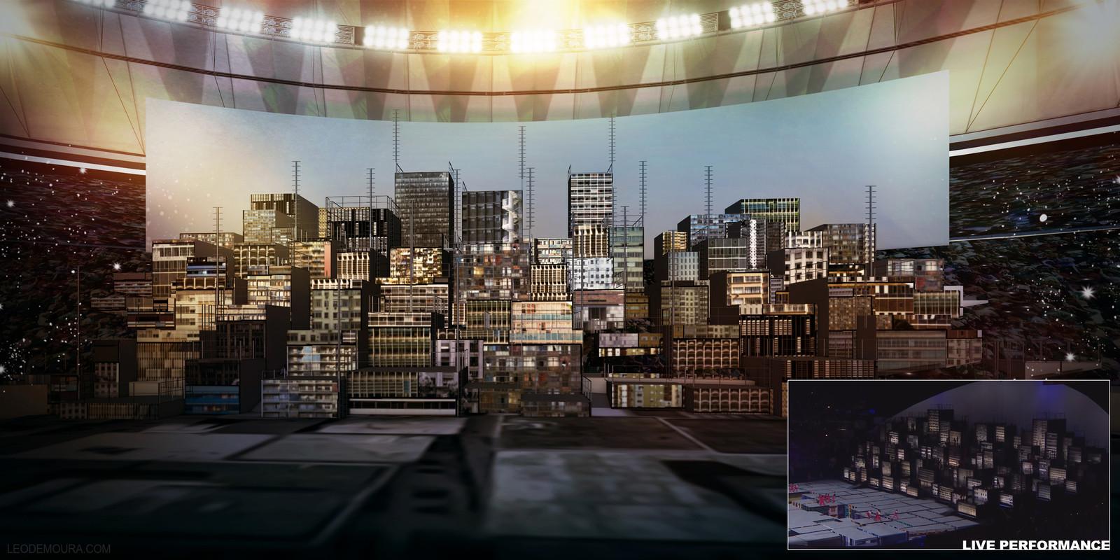 Rio 2016 Olympics Ceremony Storyboard 3/4