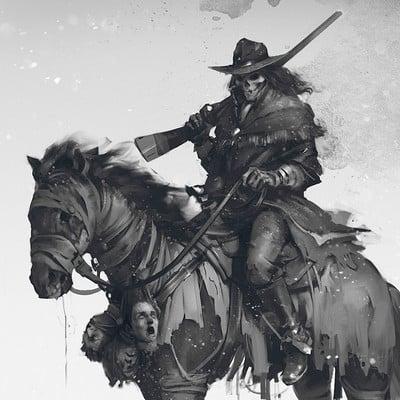 Denys tsiperko ghost rider
