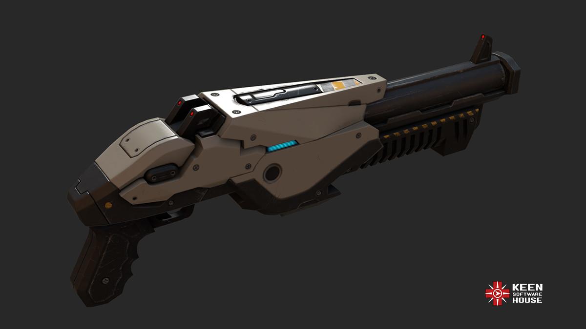 Natiq Aghayev Sci Fi Shotgun