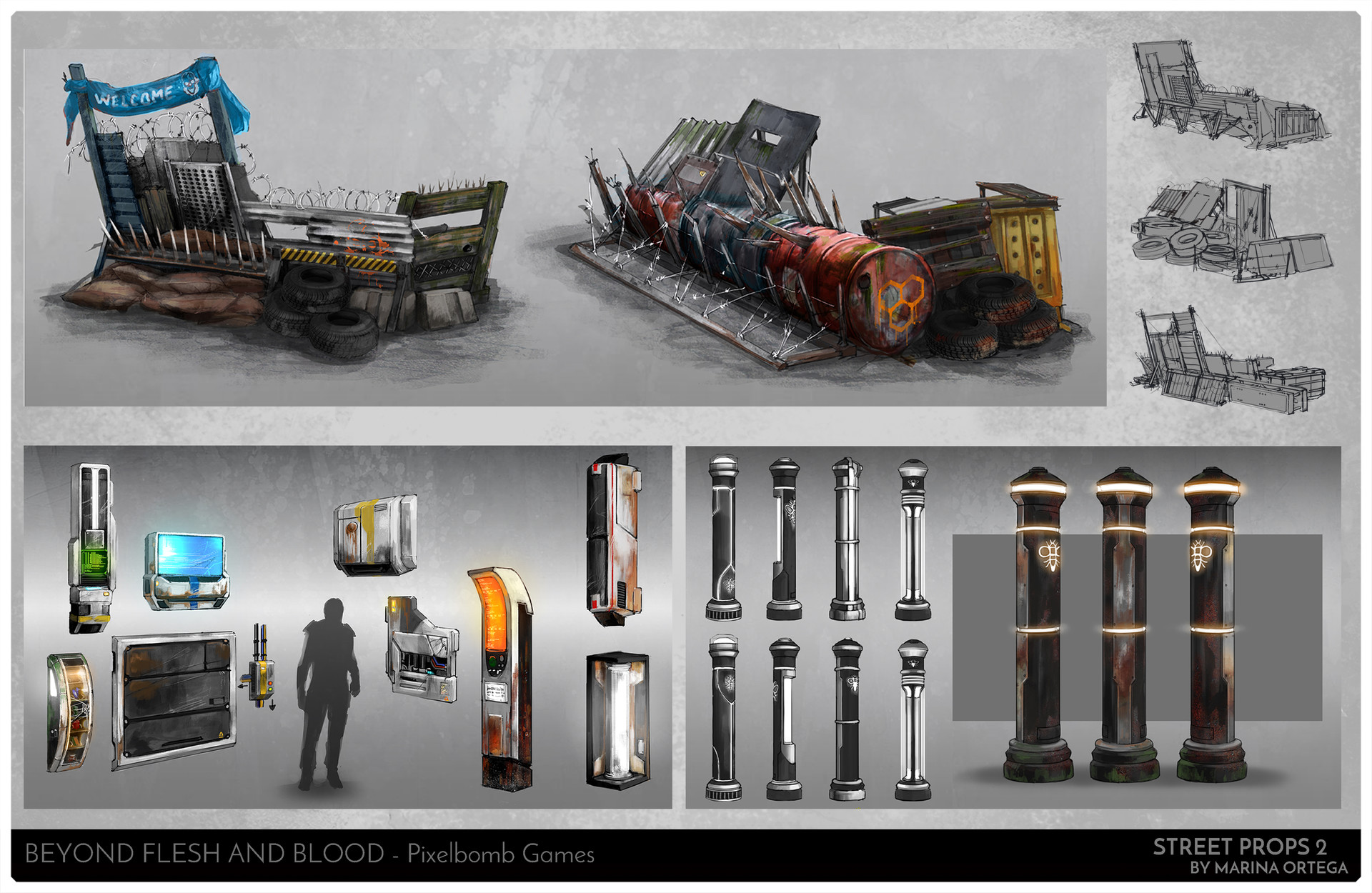 Marina ortega www artofmarinaortega com concept art page7 streetprops2