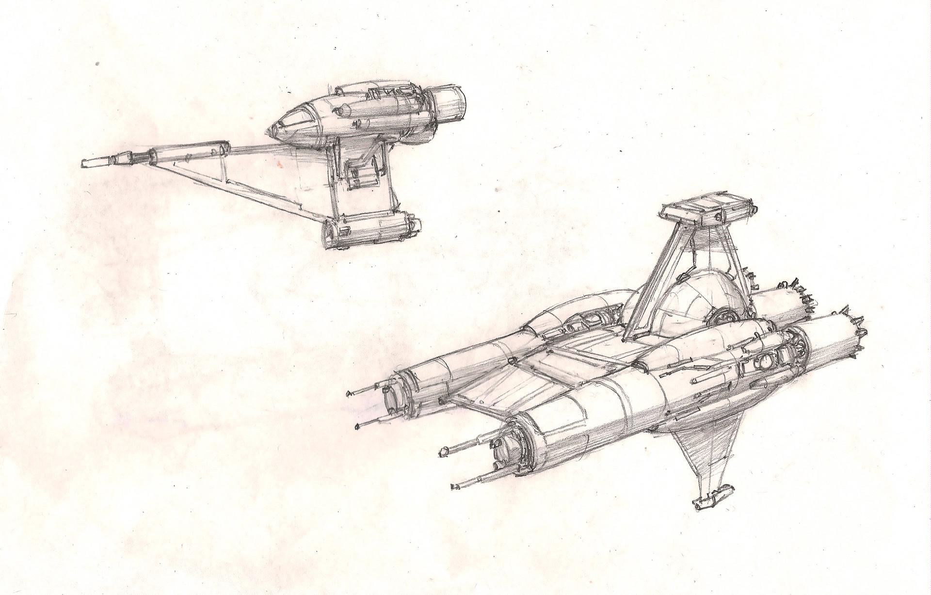 Eric geusz fighters sketch