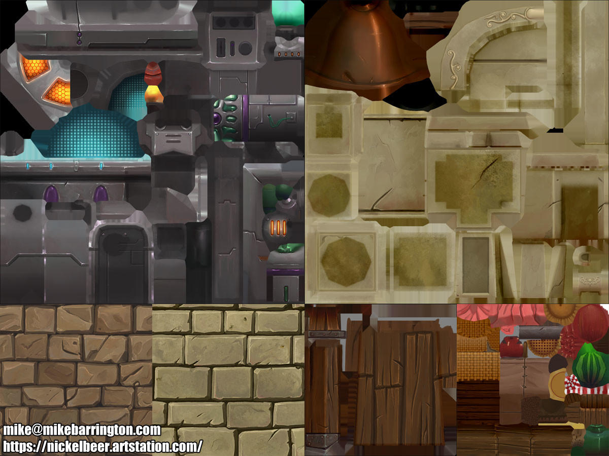Michael barrington mikebarrington chronotrigger textures