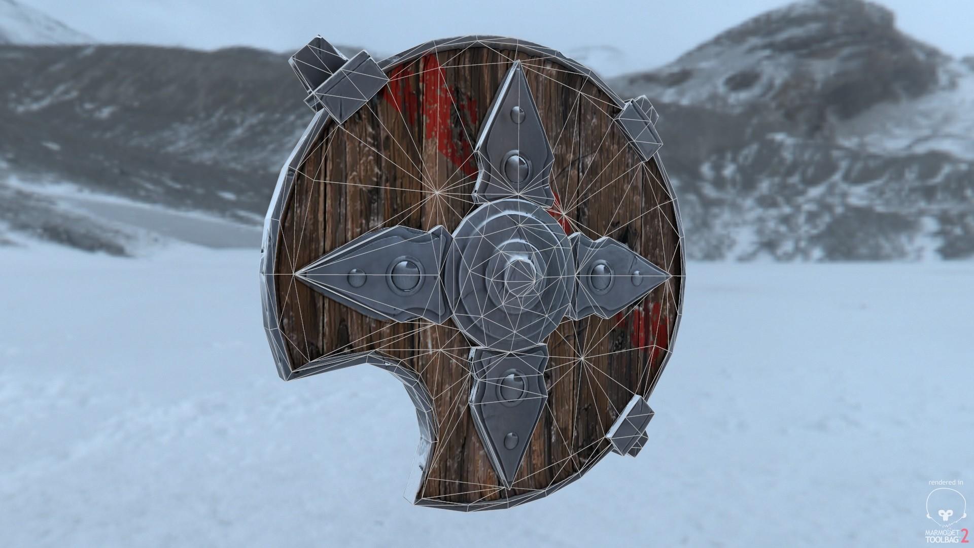 Alex natali shield wireframe