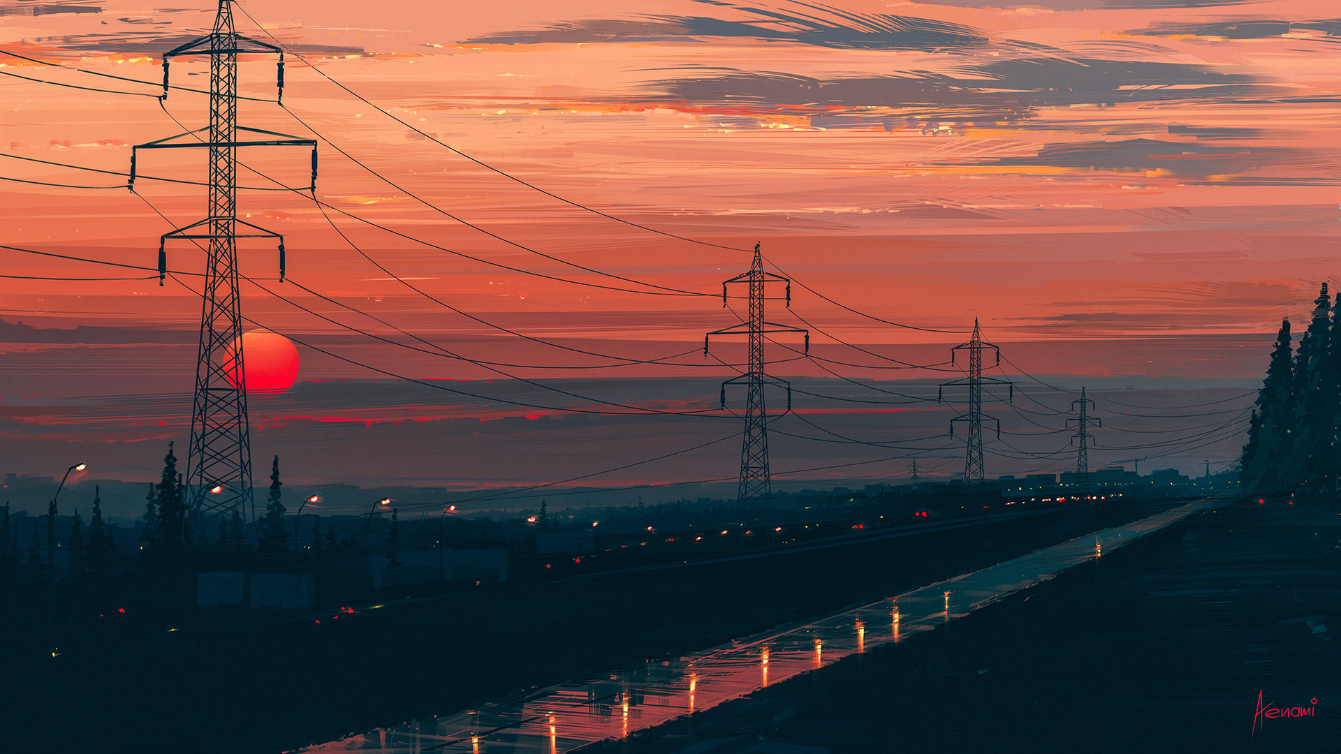 Alena aenami over the city1k