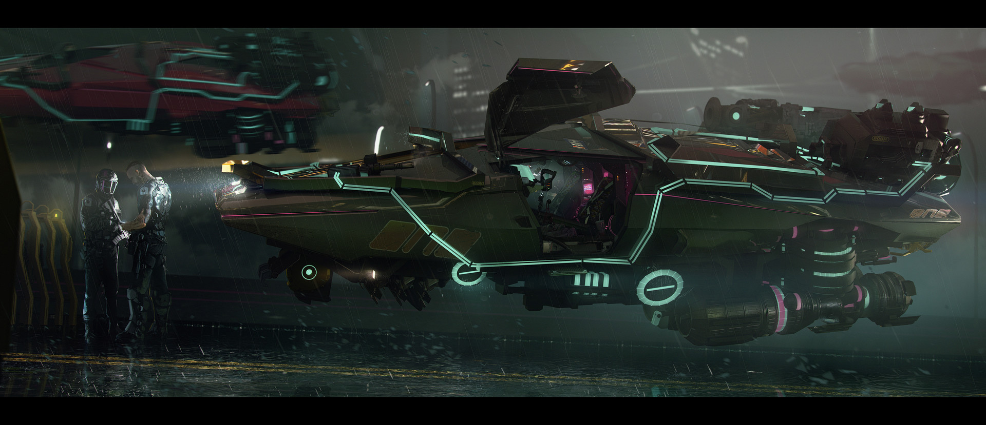 Brad wright obsidianreverie hover car mk2low