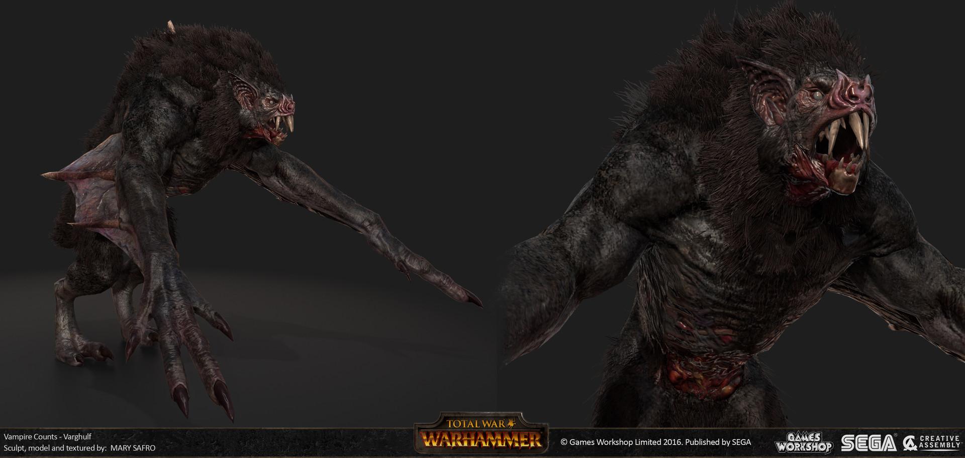 ArtStation - Total War: Warhammer, Mary Safro