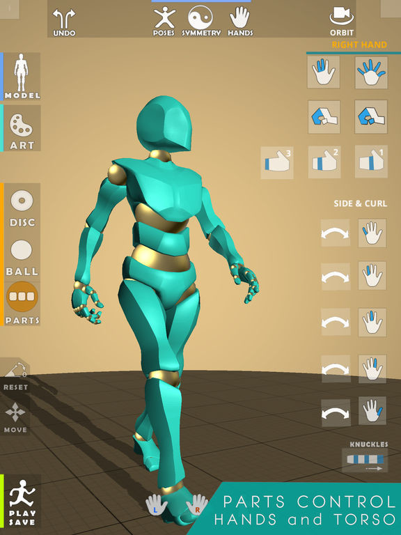 ArtStation - Posetastic! Posing app for iPad for Art and
