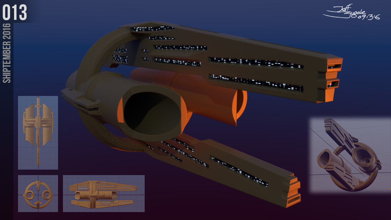 SpaceshipADay 013