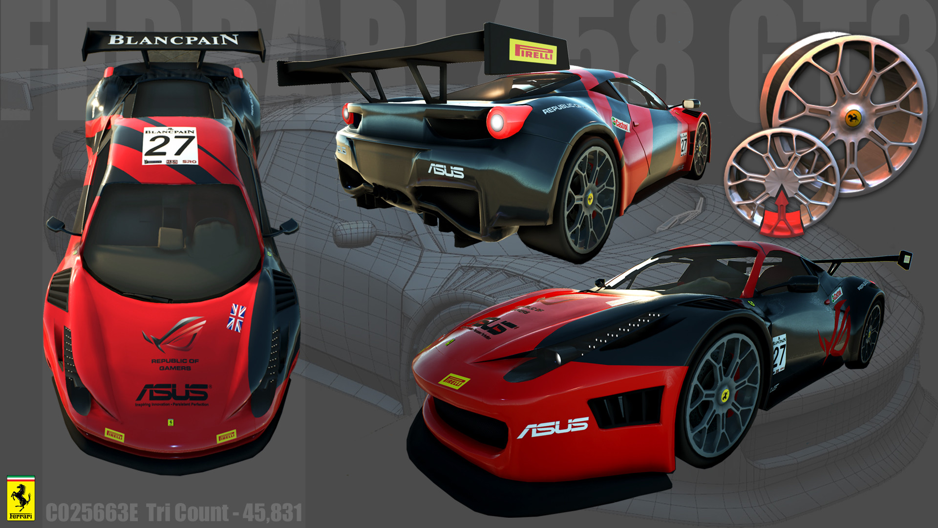 Photo Collection Ferrari 458 Gt3 Livery