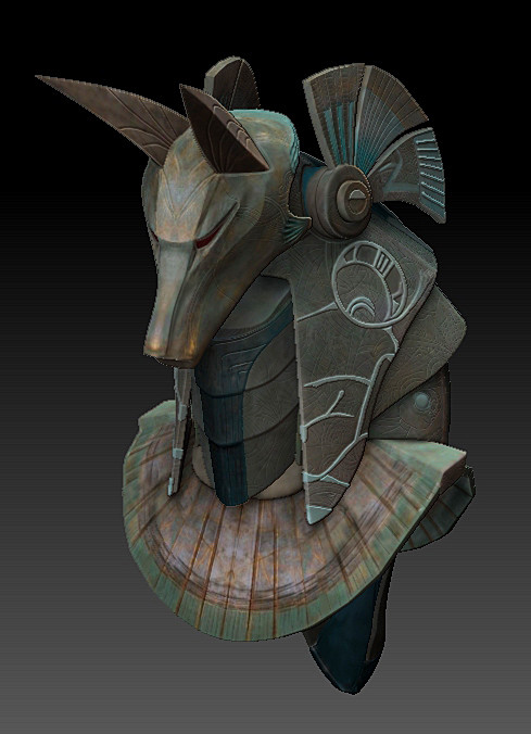 Stargate SG1 Anubis Mask