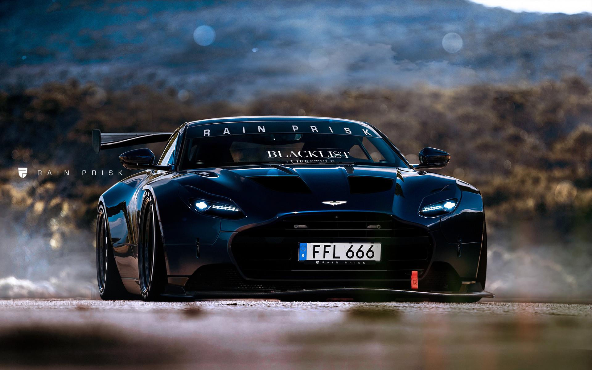 Rain Prisk Fat Aston Martin DB - Aston martin db 11