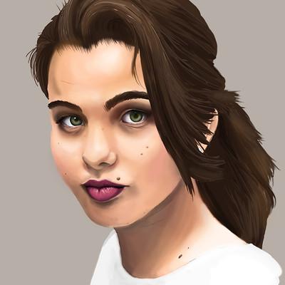 Paige walshe portrait attempt 2