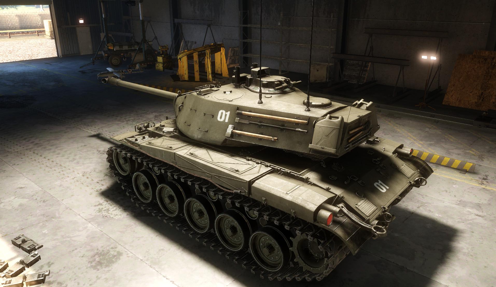 jason lewis - m41 walker bulldog light tank