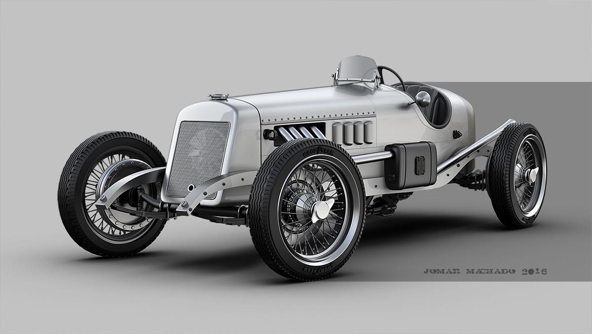 Jomar Machado - VINTAGE RACE CAR