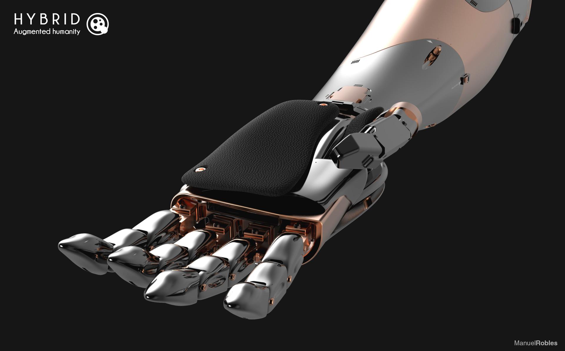 Manuel robles robot arm keyshot 10