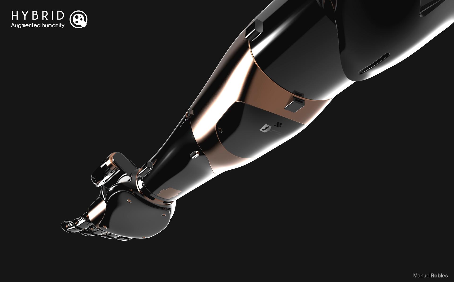 Manuel robles robot arm keyshot 12
