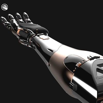 Manuel robles robot arm keyshot 04