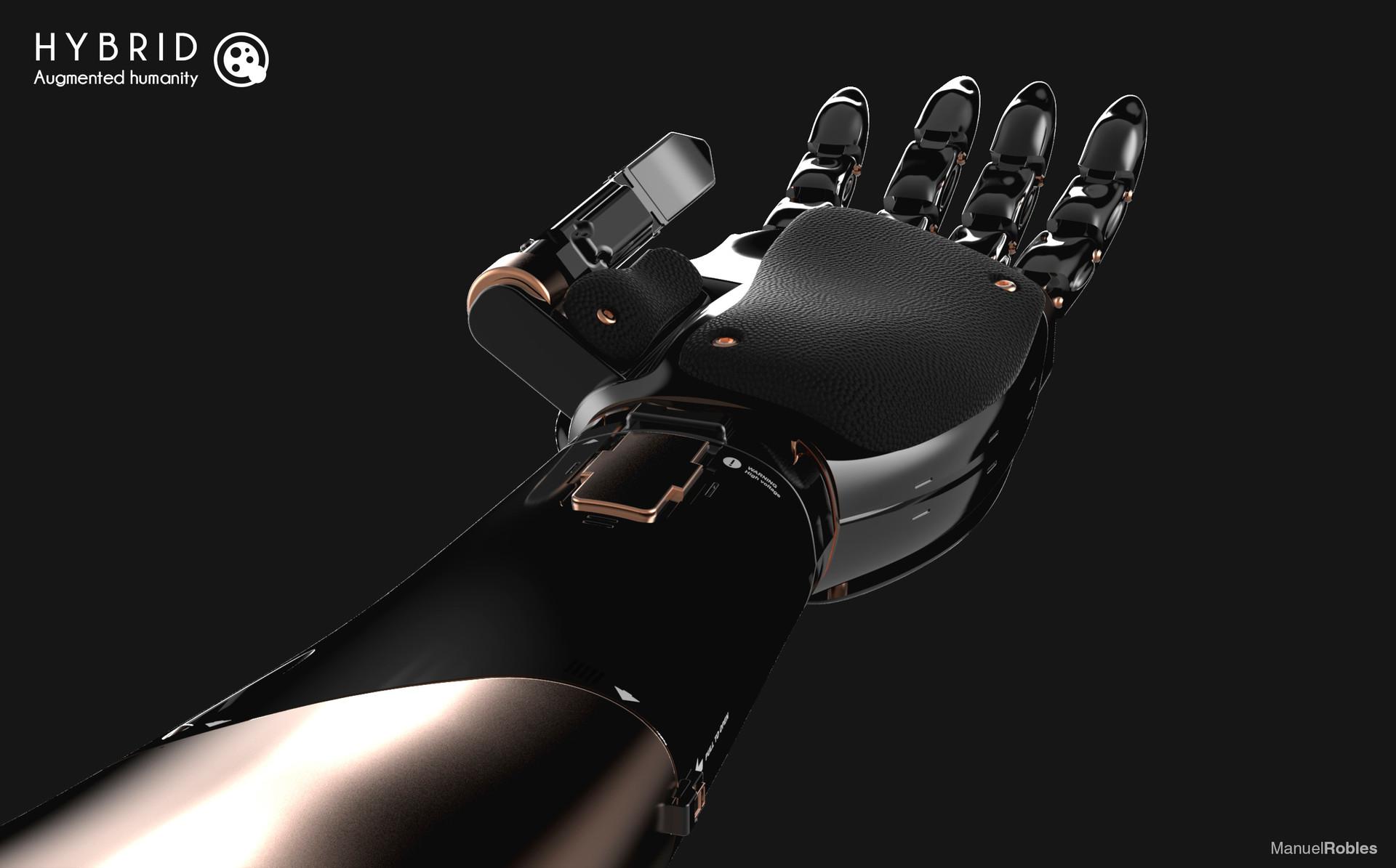Manuel robles robot arm keyshot 06