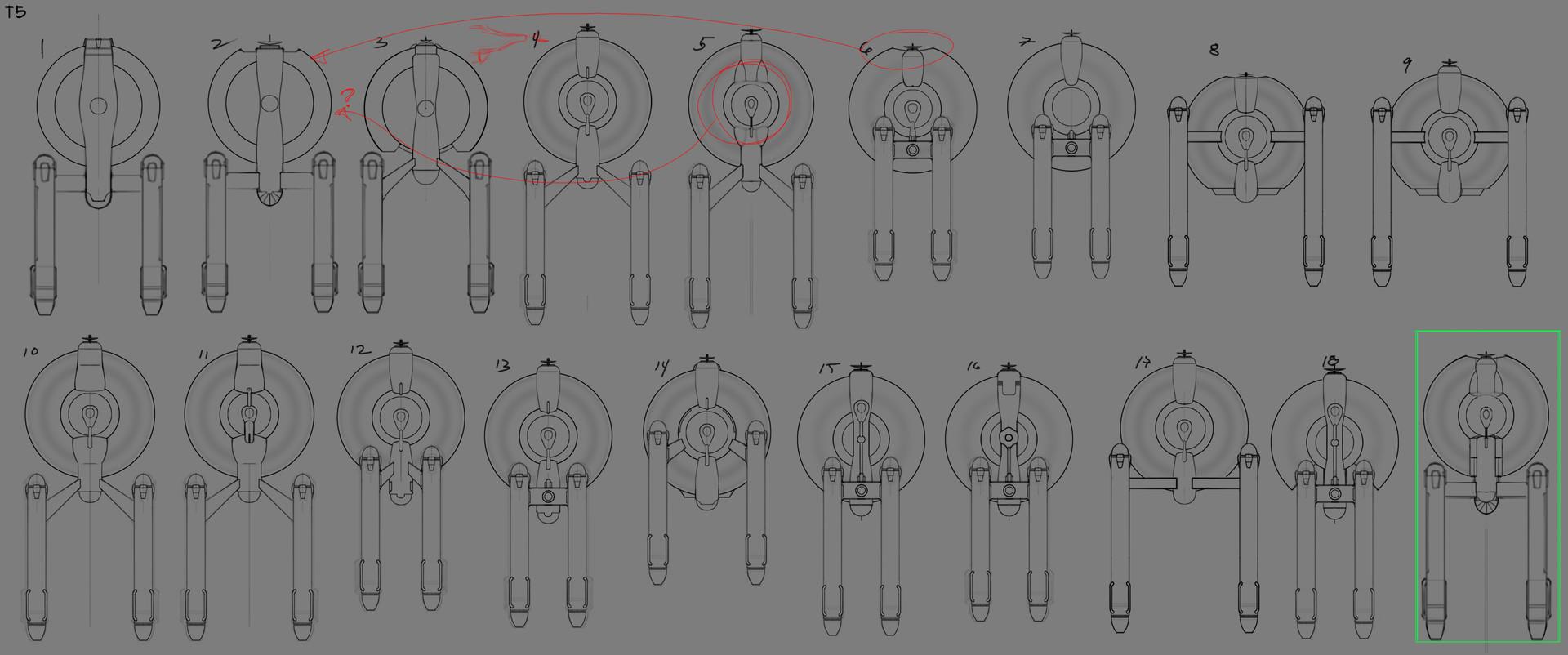 Perseus - iteration process