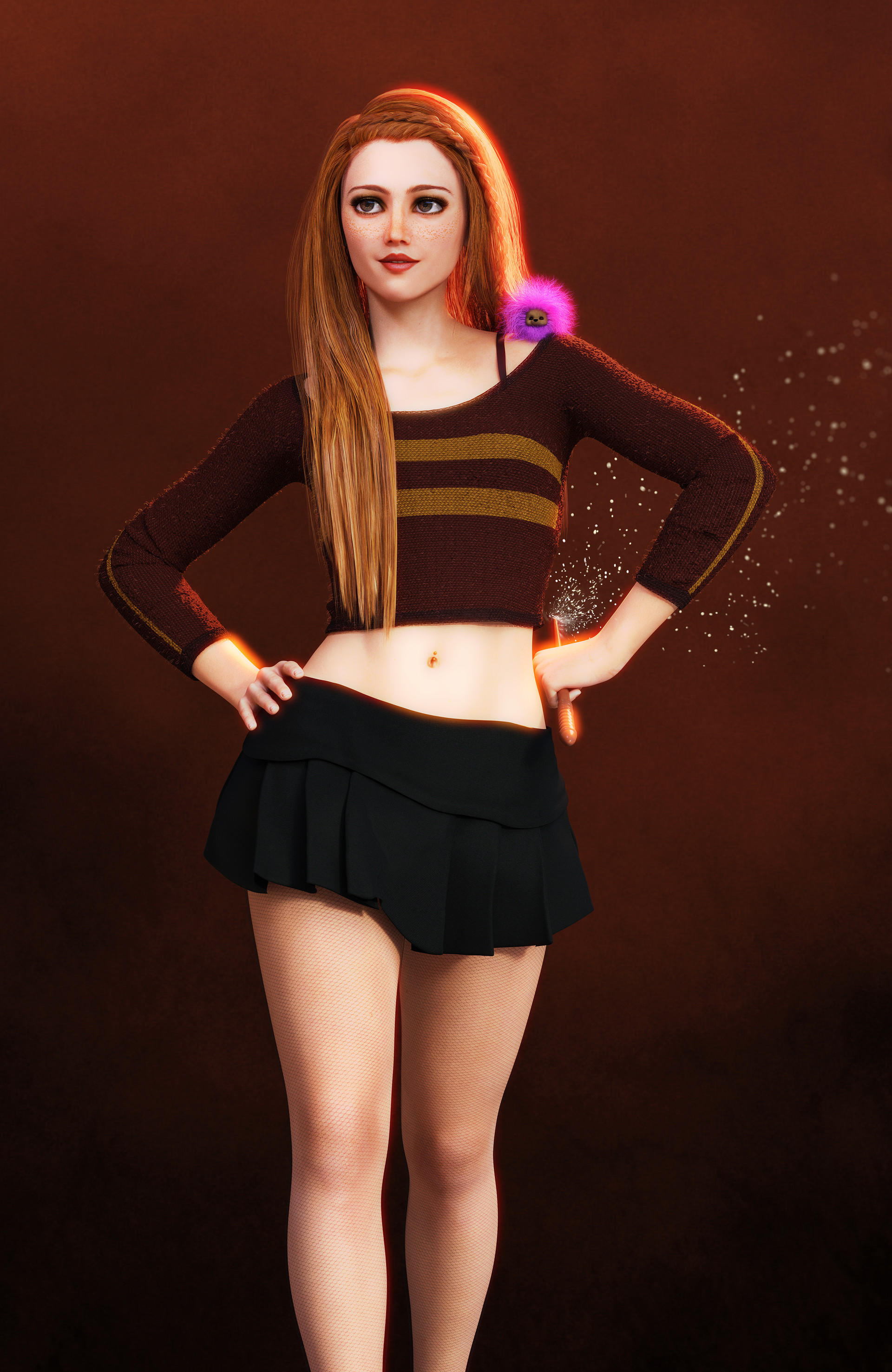 artstation ginny weasley jason knight
