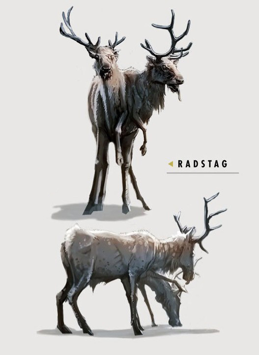 Ray lederer art of fo4 radstag