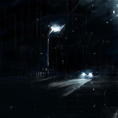 Shura j rain night