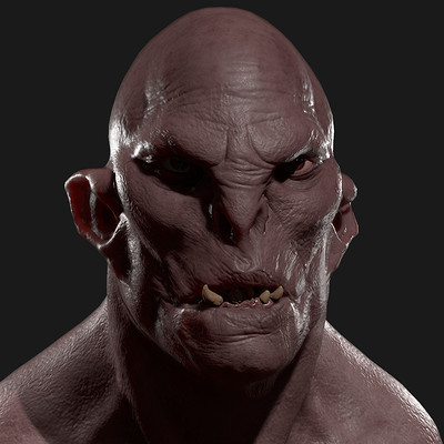 Michael hansen orc head wip