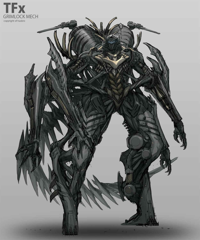 TRANSFORMERS X Dinobots Concepts | MECH MODE