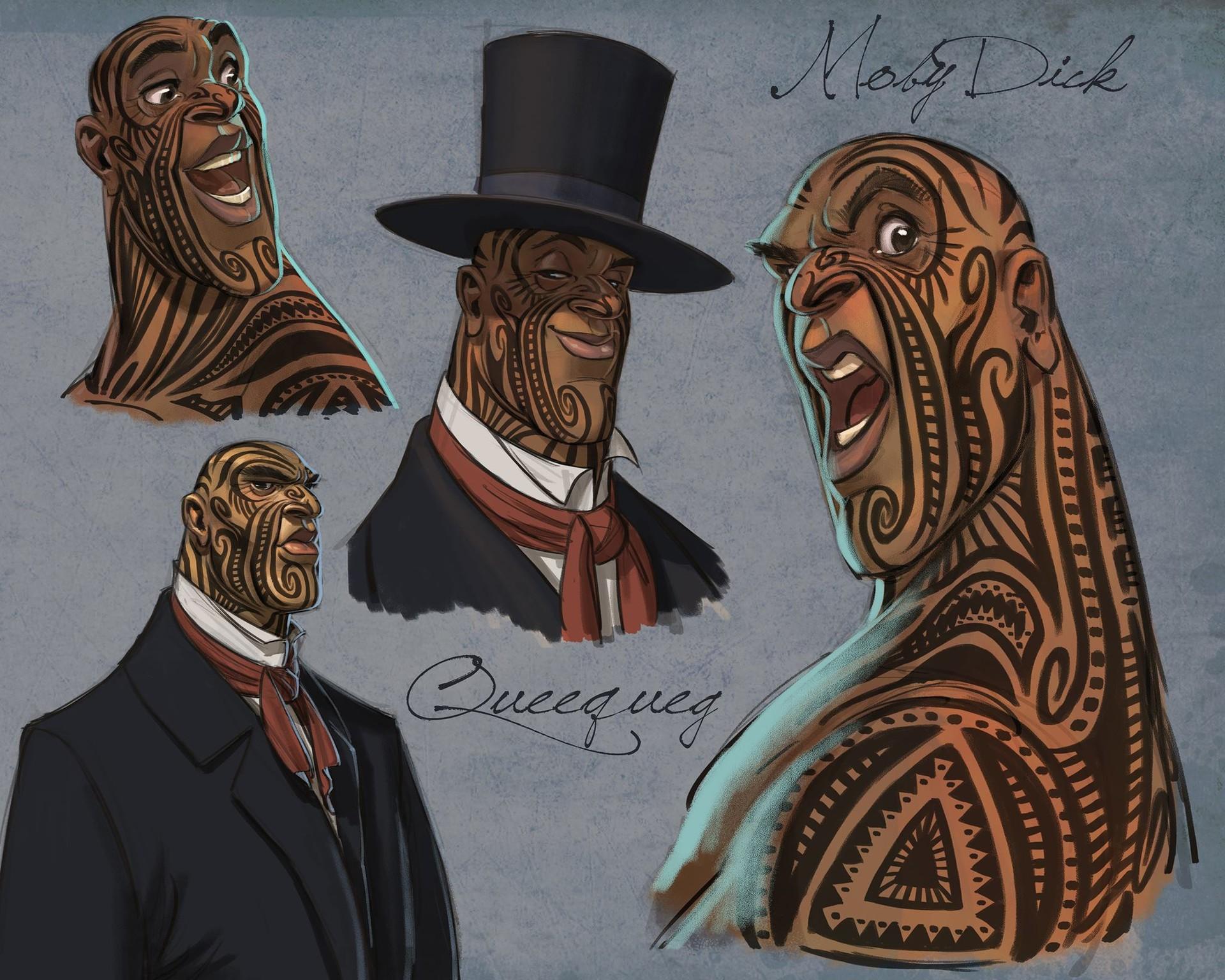 Character Design By Aaron Blaise : Artstation moby dick character designs aaron blaise