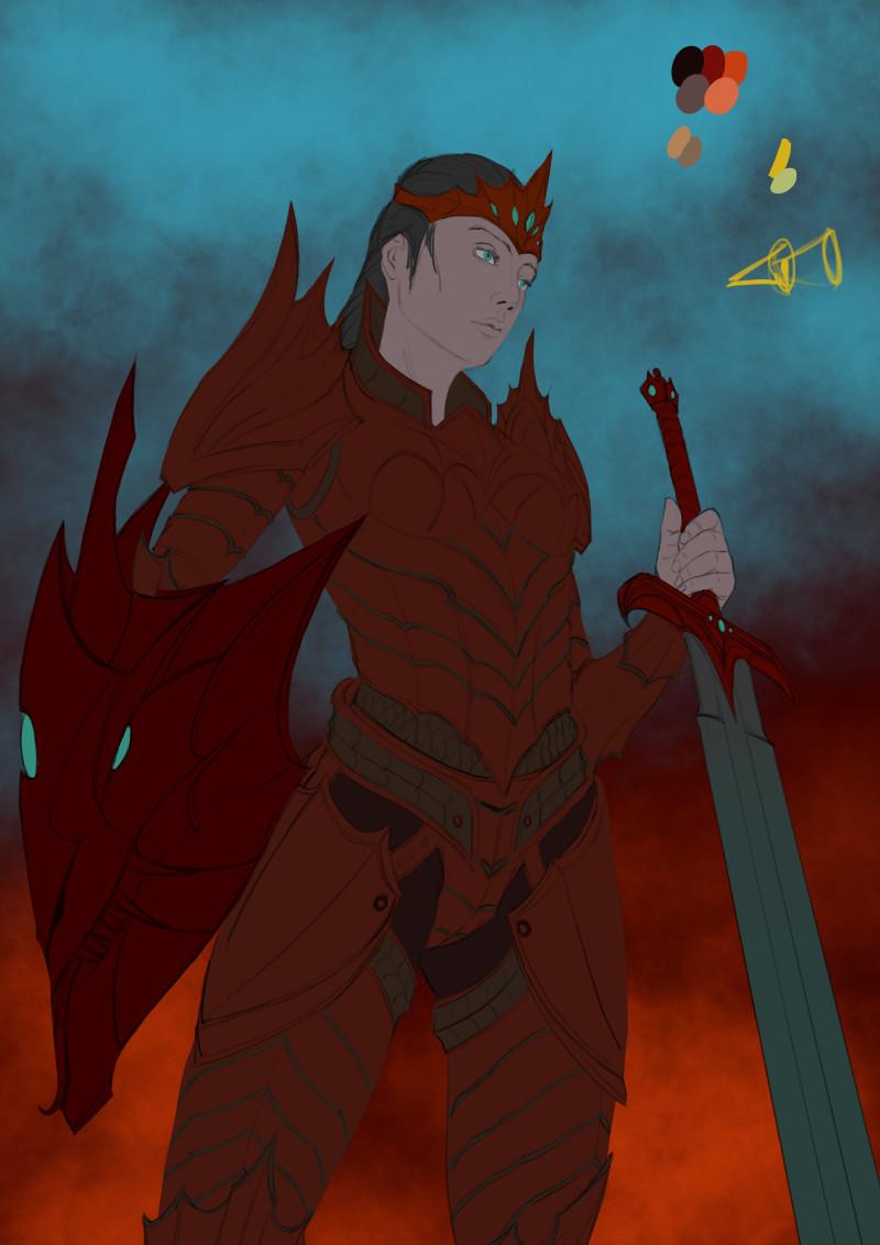 Robert crescenzio dragon princess 02