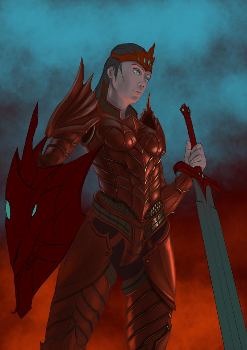 Robert crescenzio dragon princess 04