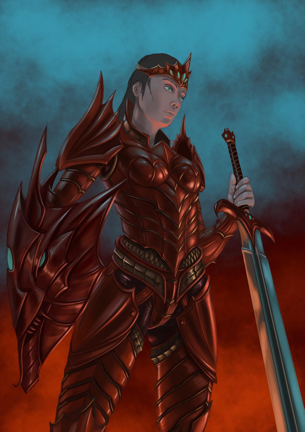 Robert crescenzio dragon princess 06