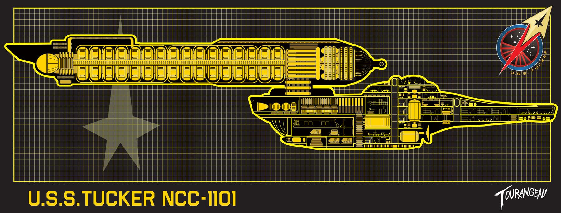 Artstation Master Systems Displays Msd Sean Tourangeau Star Trek Engineering Schematics File Of One My Own Designs The Usstucker A Pre Tos Era Border Patrol Ship