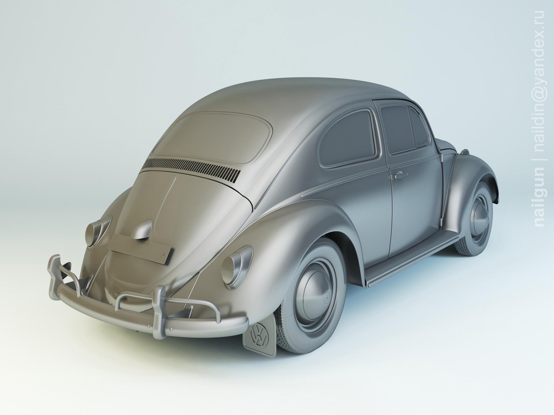 Nail khusnutdinov pwc 080 004 vw beetle 1200 modelling 1