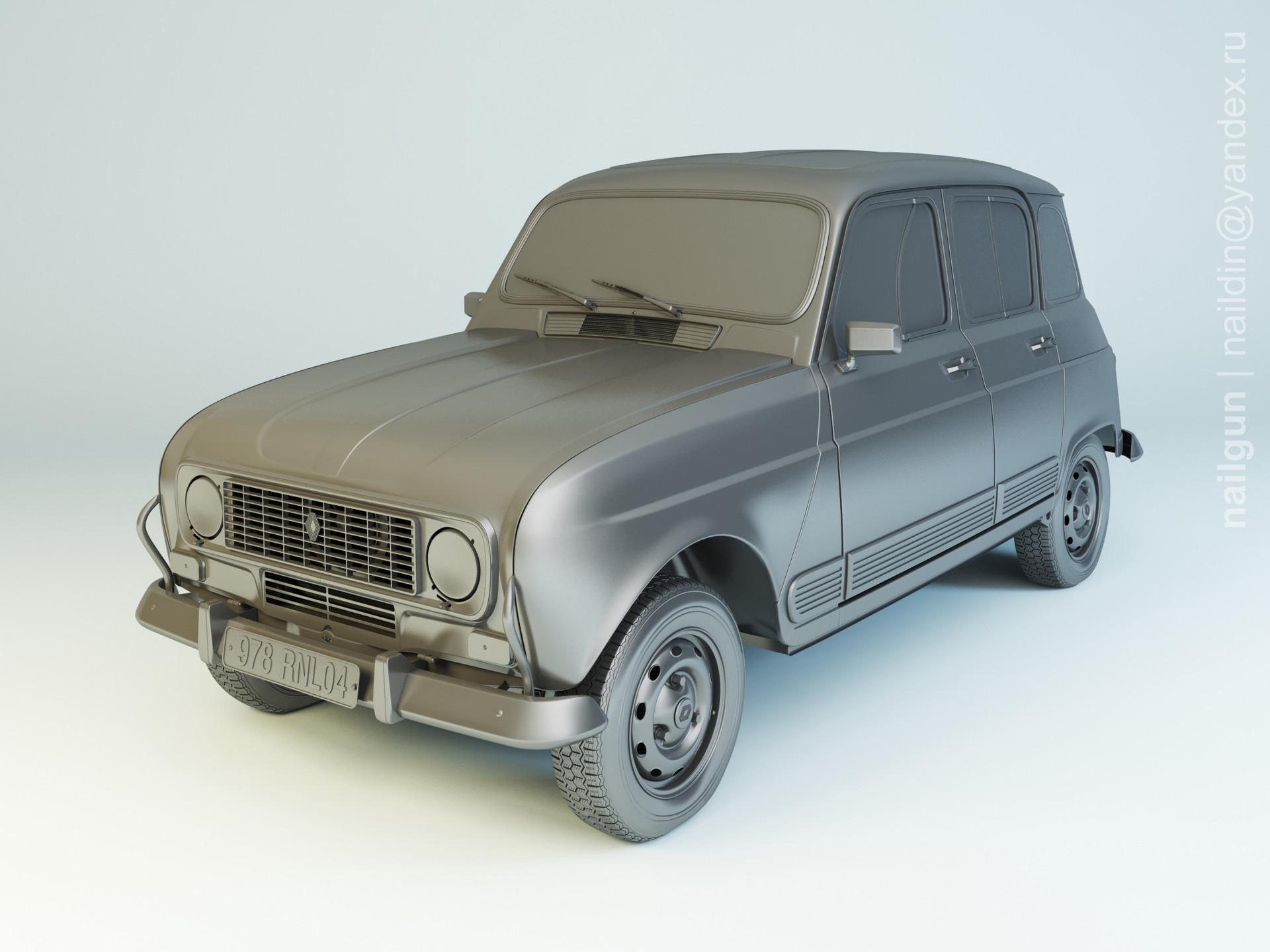 Nail khusnutdinov pwc 076 004 renault 4 modelling 0