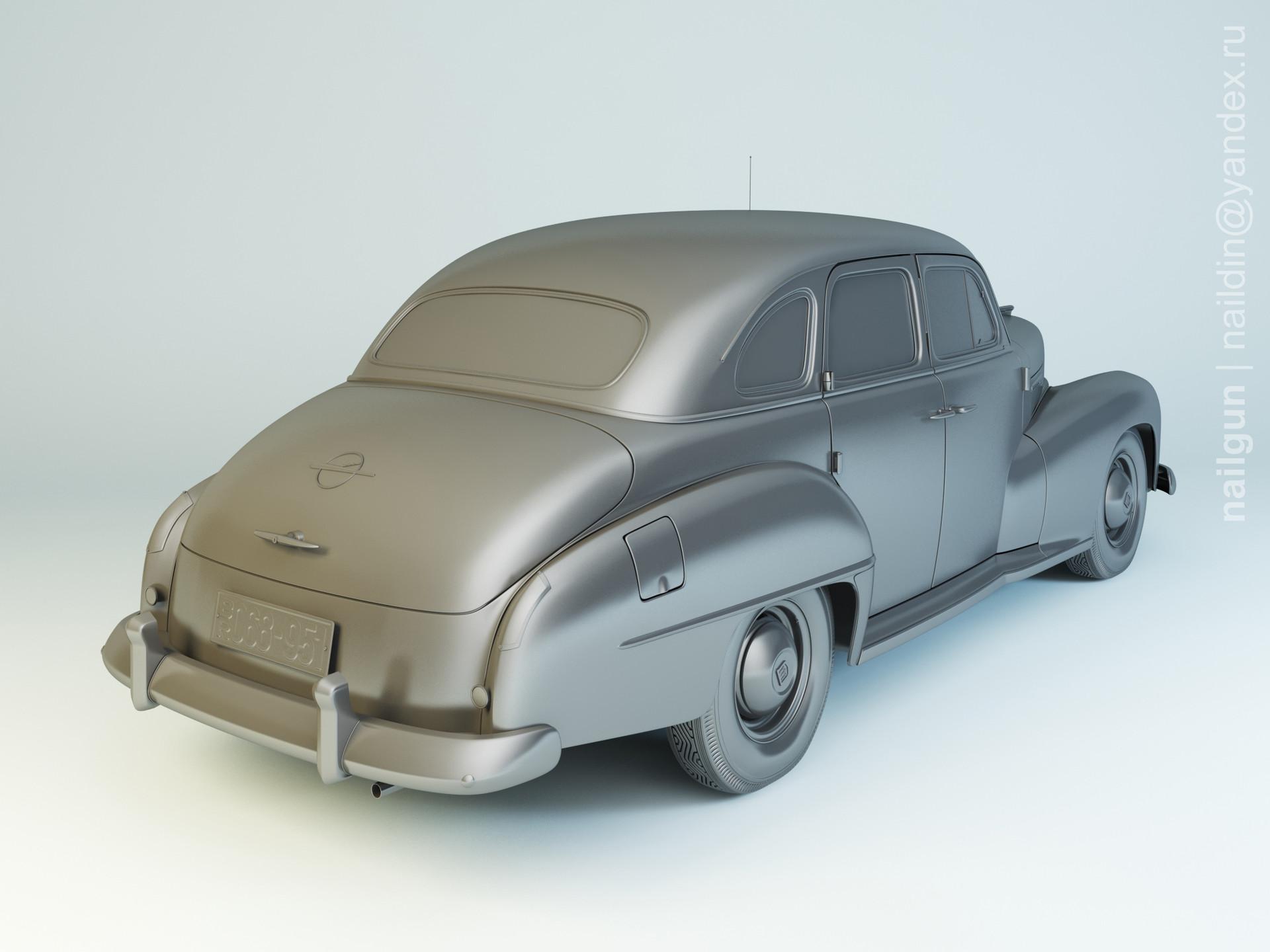 Nail khusnutdinov pwc 068 003 opel kapitan 1951 modelling 1