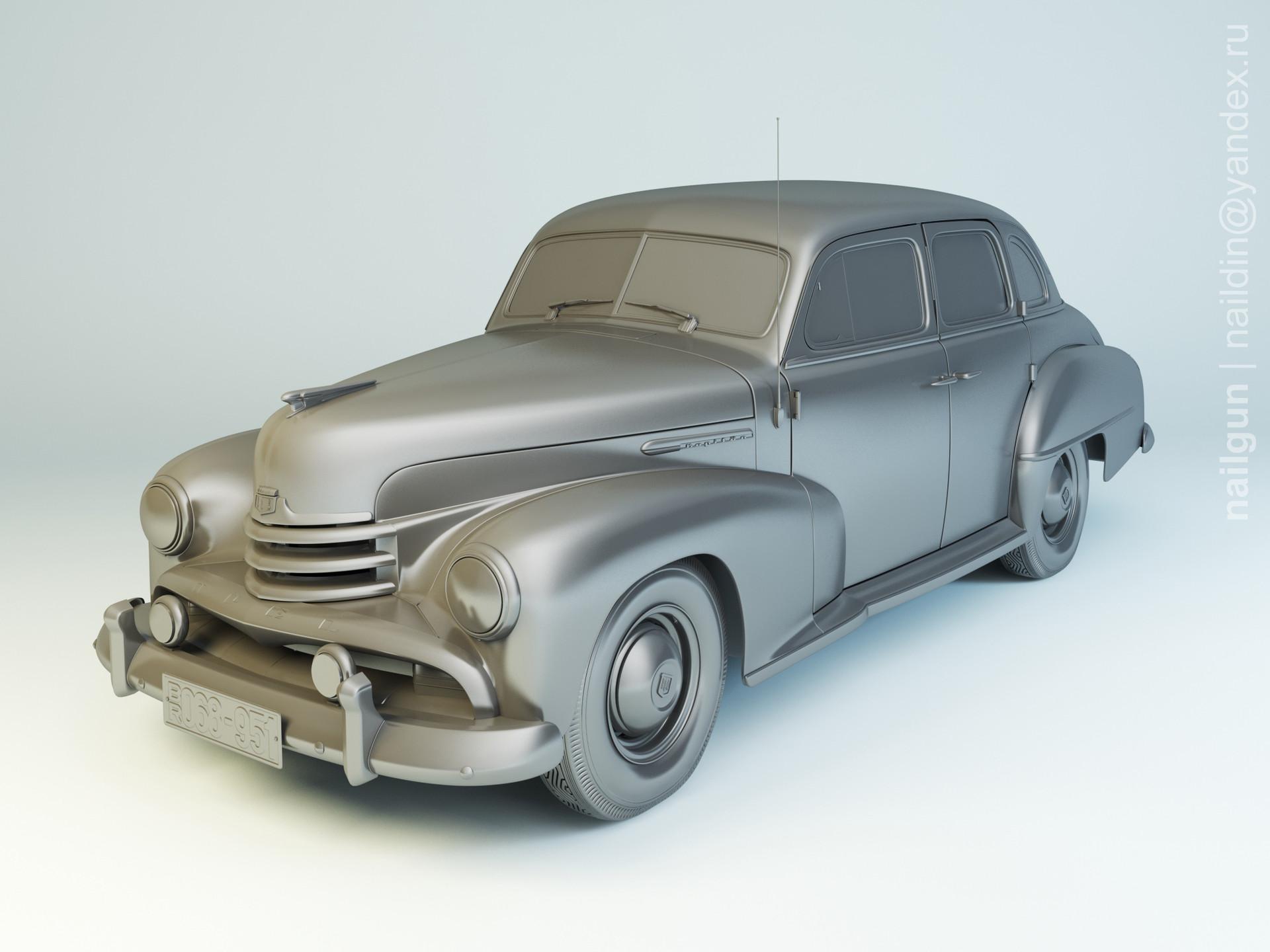 Nail khusnutdinov pwc 068 003 opel kapitan 1951 modelling 0