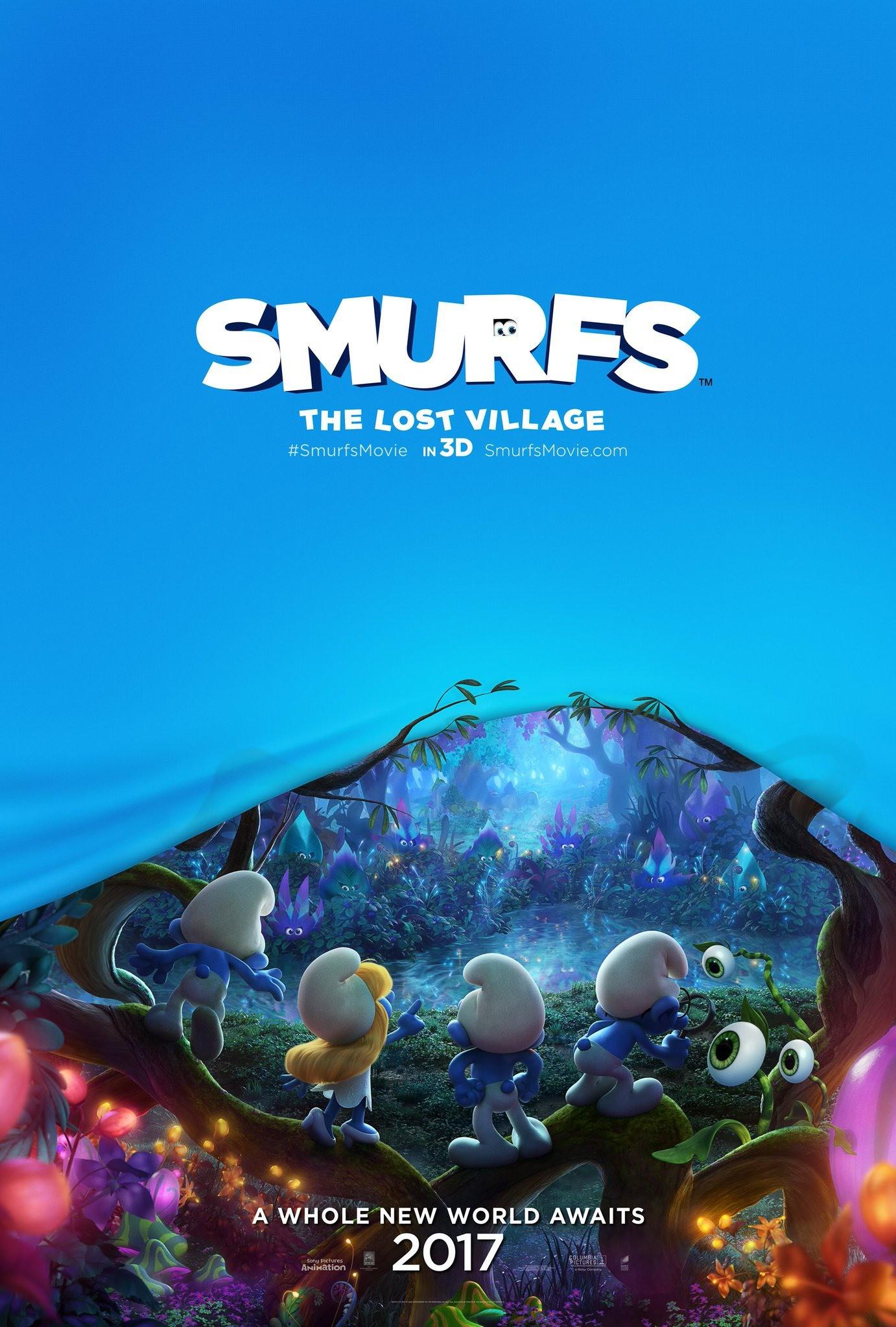 Nate hallinan smurfs the lost village xxlg