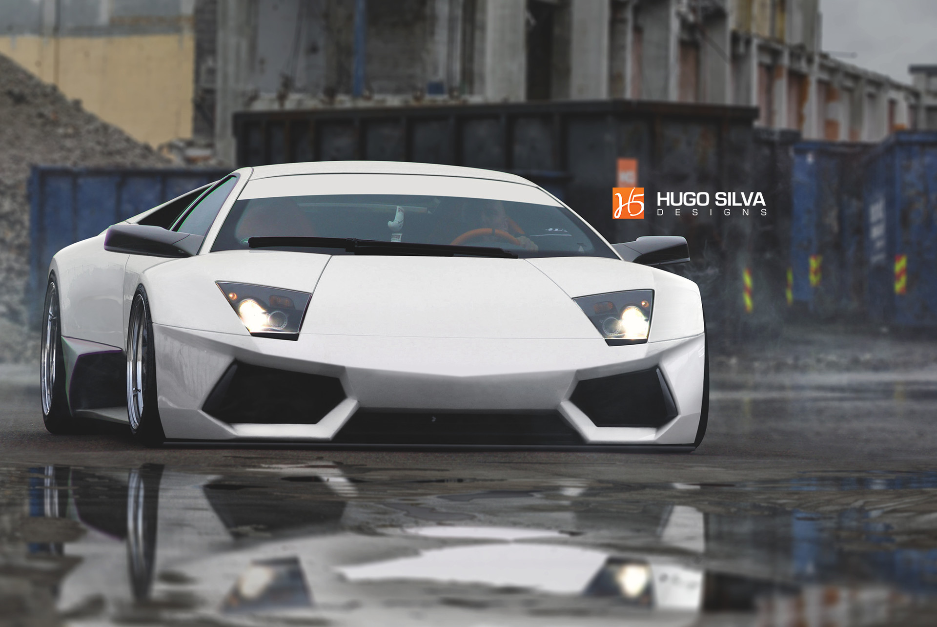 Hugo Silva Lamborghini Murcielago Widebody