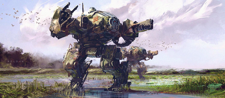 Robot Swamp