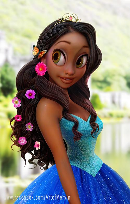 Mervin kaunda princess flowers