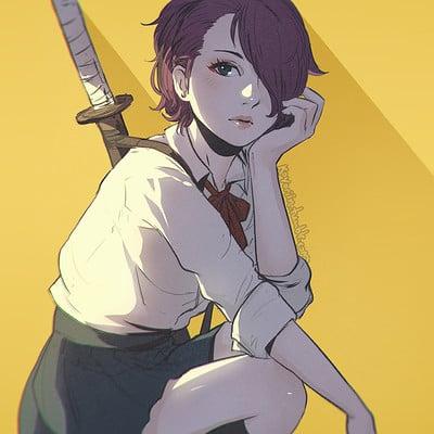 Pat c swords girl