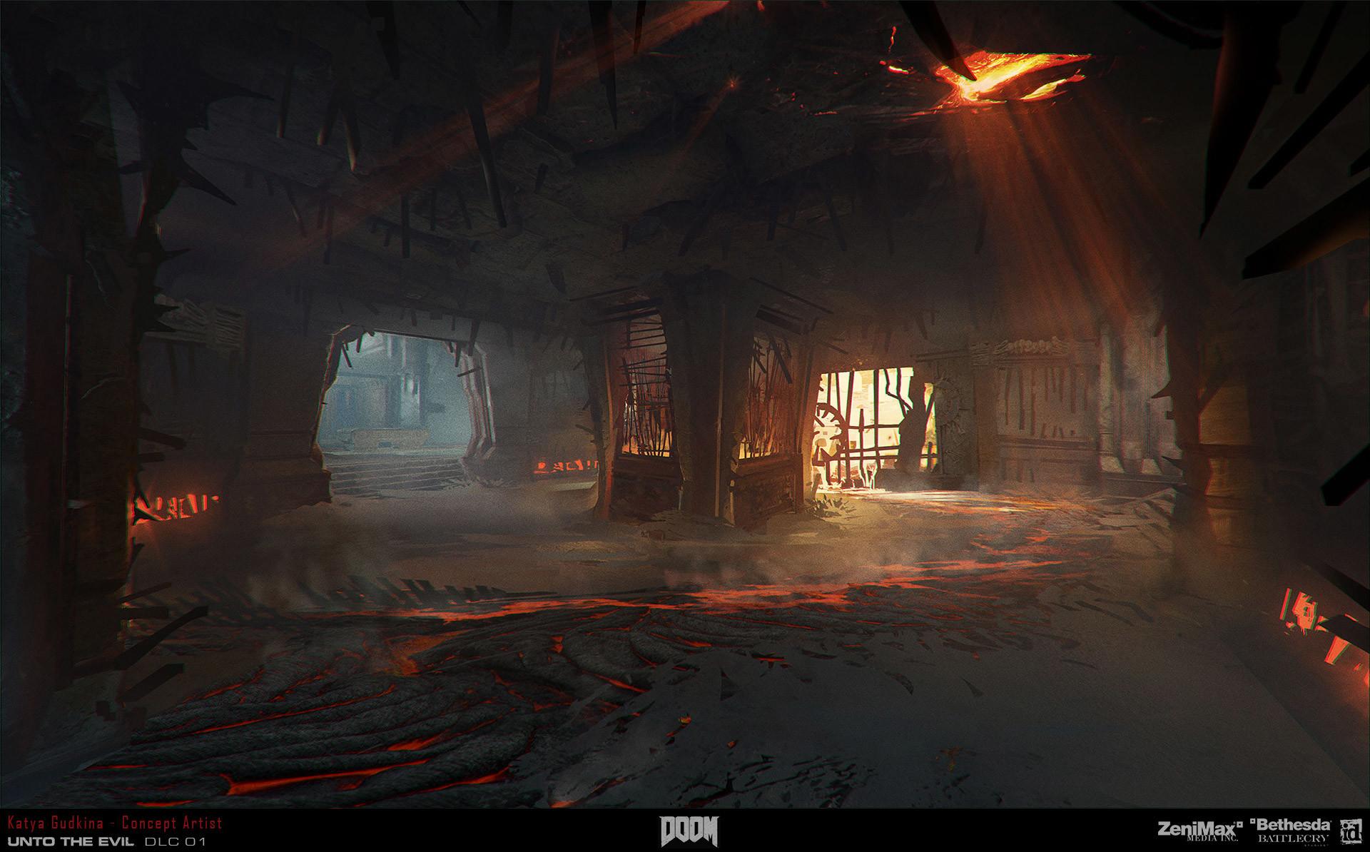 Doom Concept Art Artstation