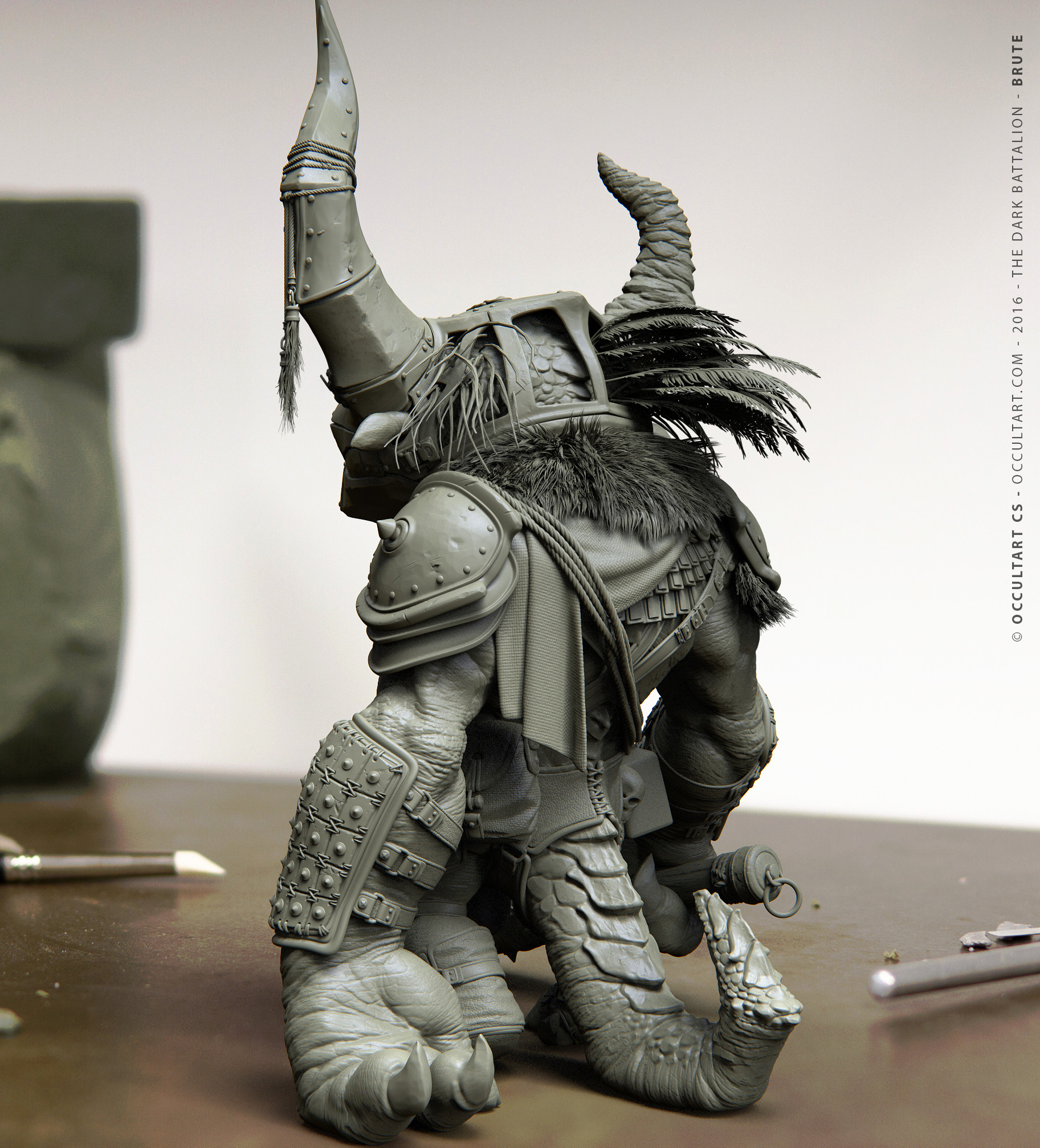 Occultart   the dark battalion brute 3