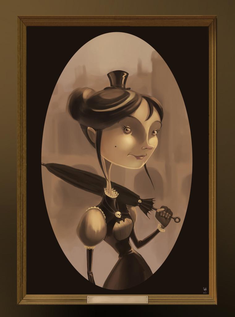 Nina the vampire
