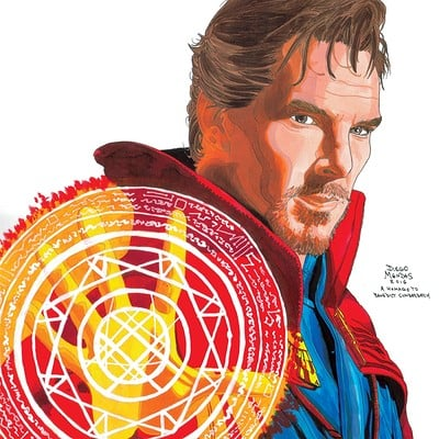 Diego mendes now 2016 07 31 pin up doctor strange benedict cumberbatch ncw diego mendes