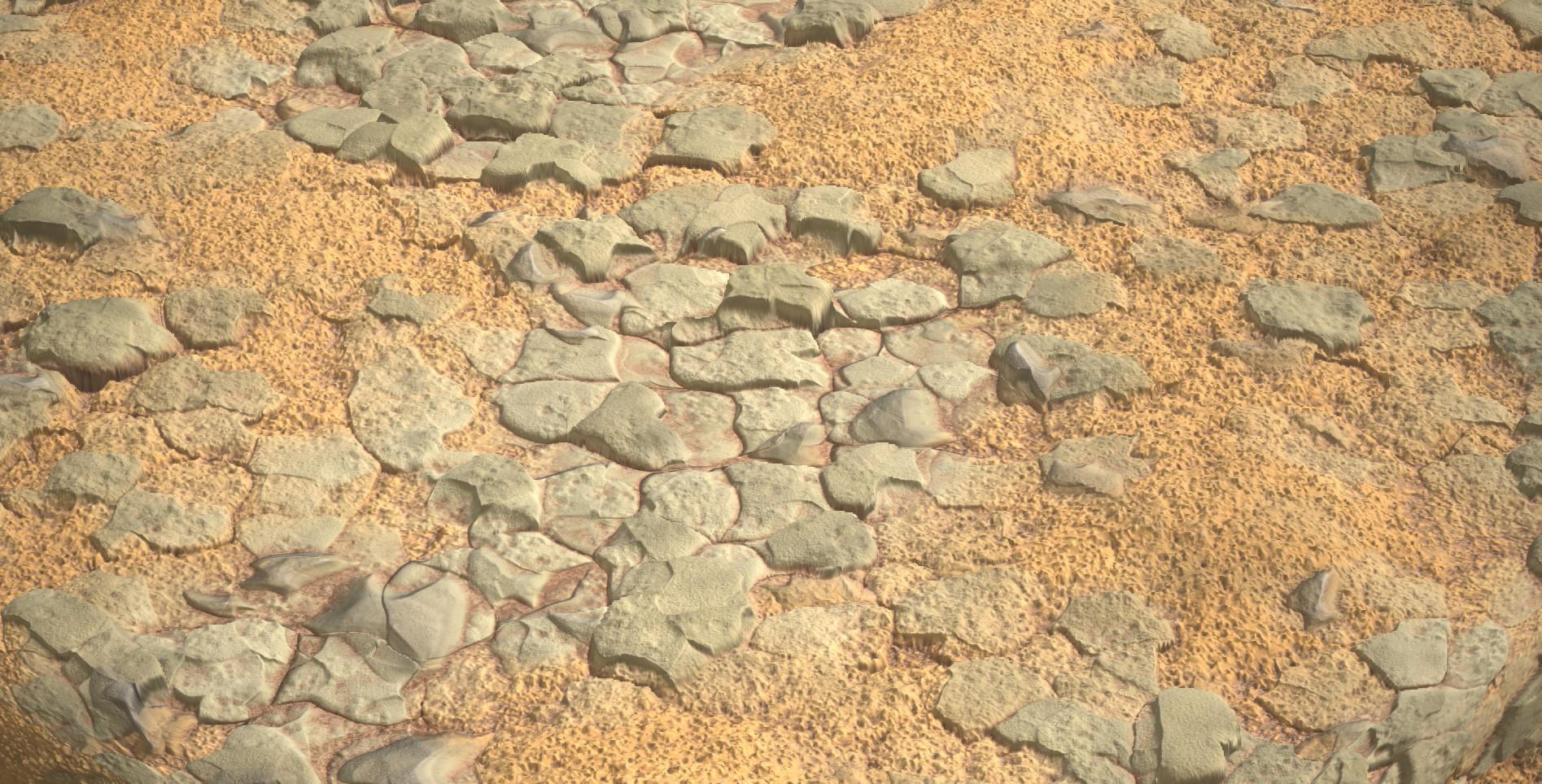 Athos Kele Rocky Ground Substance Designer Material